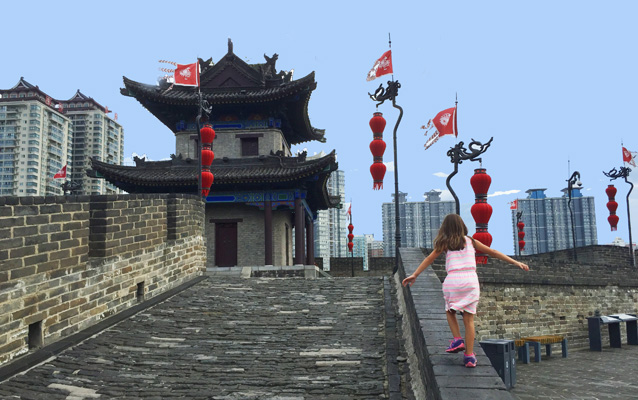 Visit Xian Ancient City Wall