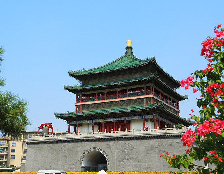 Welcome to Xian - Bell Tower