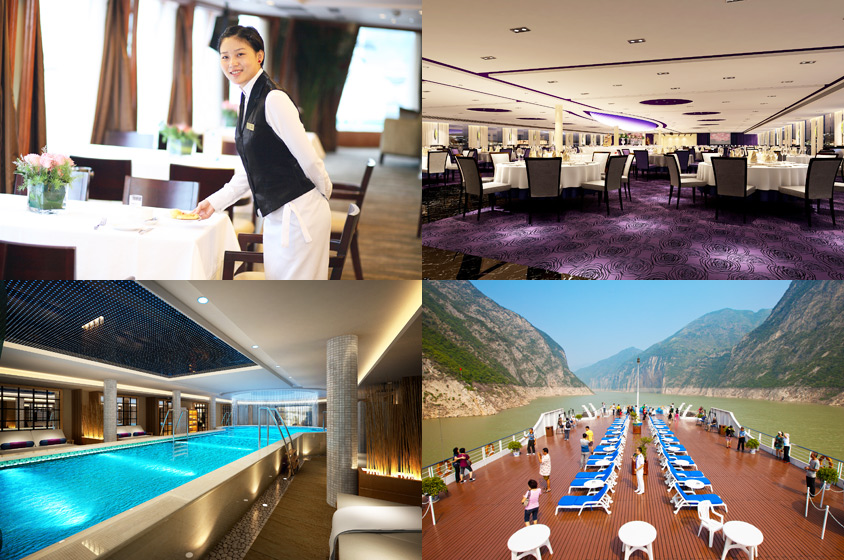 Luxury Yangtze River Cruises - Century Legend
