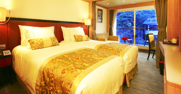 Yangtze River Cruise Ship Rooms Types Facilities Accommodation - Cruise ship cabin pictures