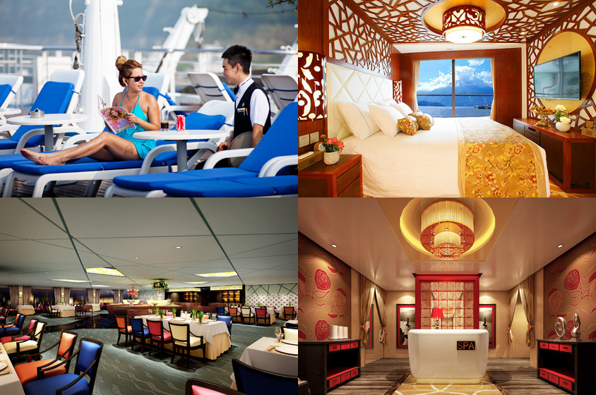 Luxury Yangtze River Cruises - Century Paragon
