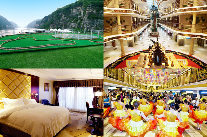 Largest Cruise Ship on Yangtze River - Yangtze Gold Cruises
