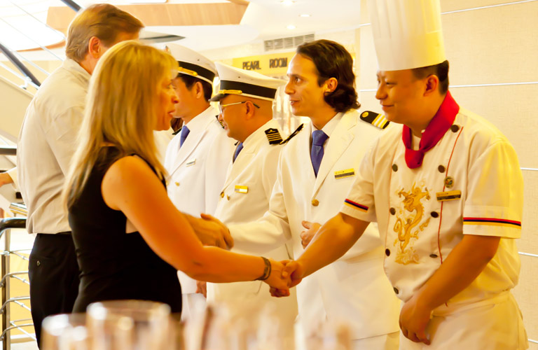 Yangtze River Cruise Activities - Captain's Welcome Party