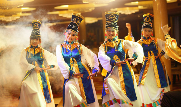 Chinese traditional custom show