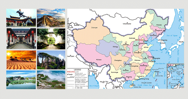 China Yangte Tour Maps