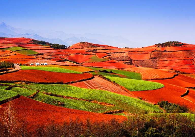 Dongchuan Red Land in Yunnan