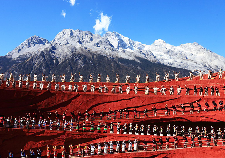 Jade Dragon Snow Mountain in Lijiang