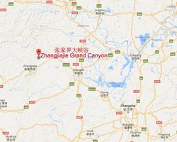 Zhangjiajie Map, Zhangjiajie China Map, Zhangjiajie Hunan Map 2019 on
