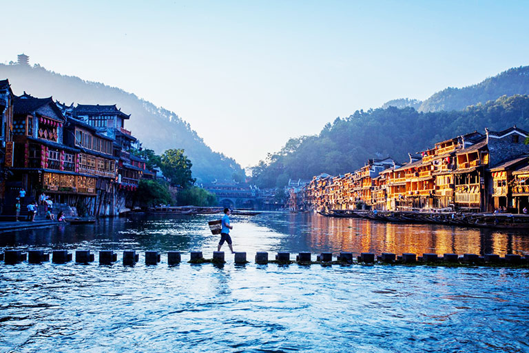 Fenghuang Ancient Town & Tuojiang River