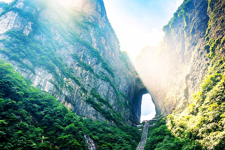 Tianmen Cave of Tianmen Mountain