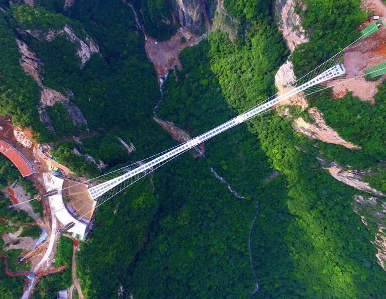 Zhangjiajie Grand Cayon  Glass Bridge