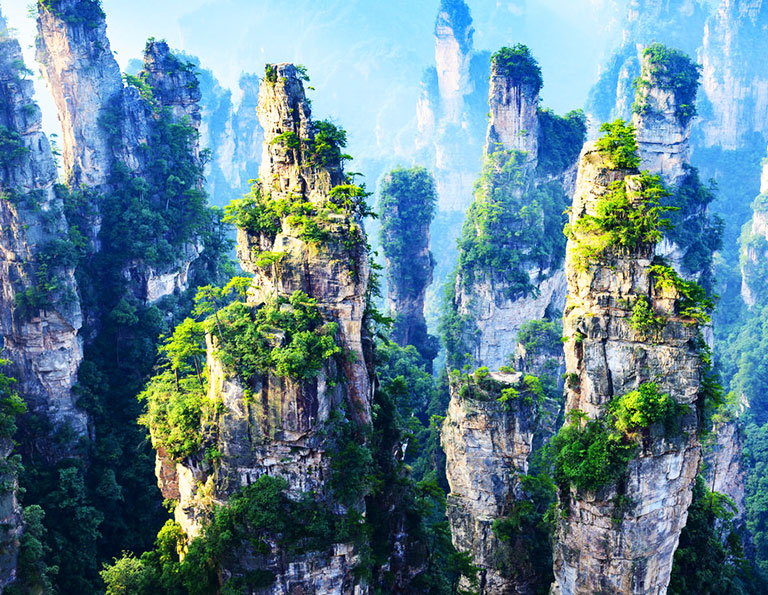 Zhangjiajie National Forest Park Marvellous Views