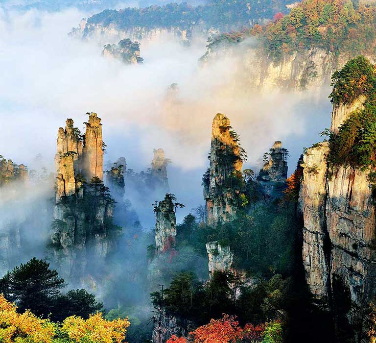 Zhangjiajie in Autumn