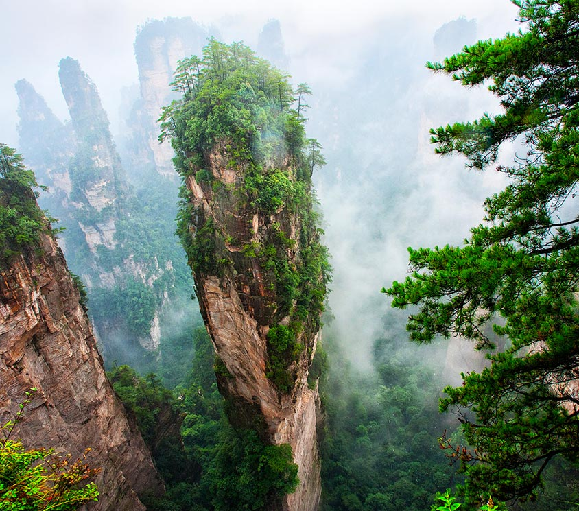 Zhangjiajie in Summer