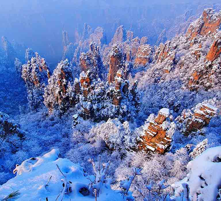 Zhangjiajie in Winter