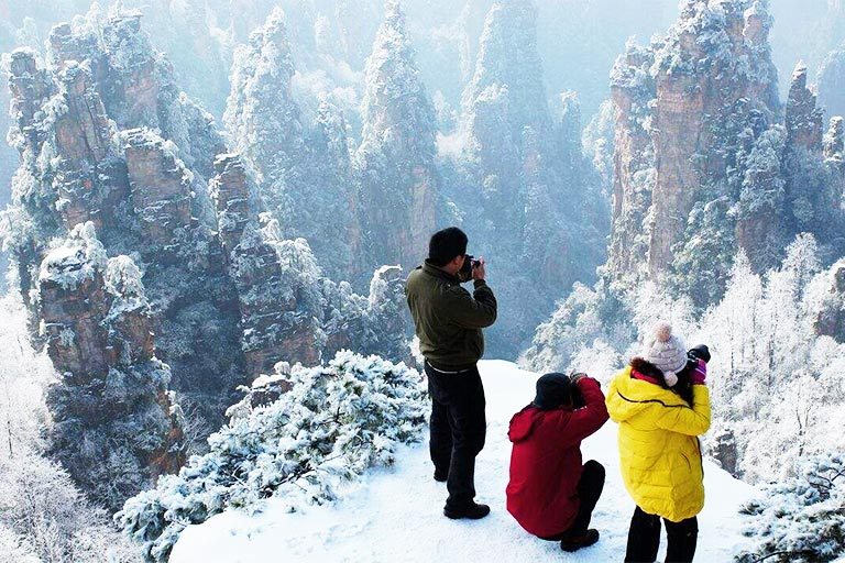 Zhangjiajie Winter