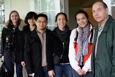 Sara and her friend Denis visited China Discovery Tour operators in Chengdu