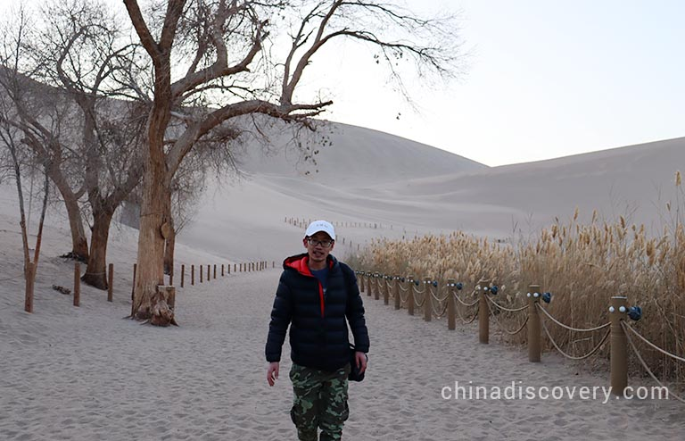 Dunhuang Echoing Sand Mountains