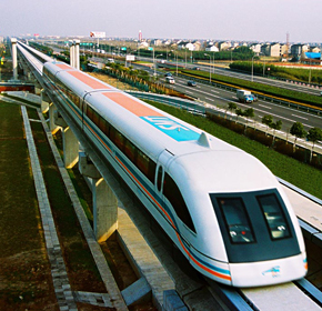 Shanghai High-tech Maglev Train